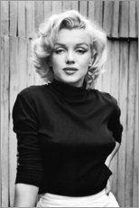 Tableau en bois  Marilyn Monroe - Celebrity Collection