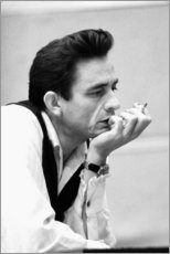 Tableau sur toile  Johnny Cash - Celebrity Collection