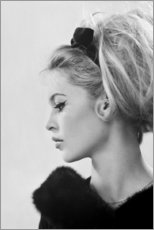 Poster  Brigitte de profil - Celebrity Collection