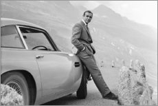 Tableau sur toile  Sean Connery alias 007 - Celebrity Collection