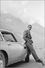 Tableau sur toile  Sean Connery en James Bond - Celebrity Collection
