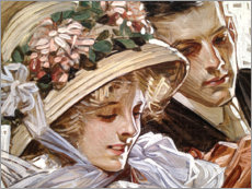 Sticker mural  L'union - Joseph Christian Leyendecker