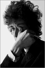 Sticker mural  Bob Dylan II - Celebrity Collection