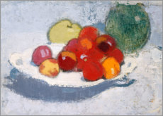 Poster Nature morte aux fruits