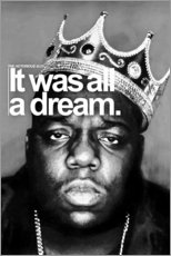 Tableau en PVC  The Notorious B.I.G. - Celebrity Collection