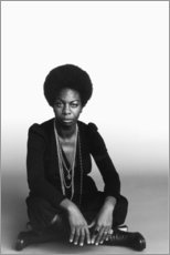 Tableau en PVC  Nina Simone - Celebrity Collection