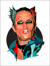 Poster  Keith Flint - Anna McKay