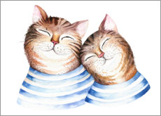 Poster  Les amis chats - Kidz Collection
