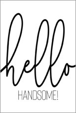 Poster Hello Handsome