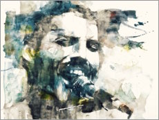 Tableau en verre acrylique  Freddie Mercury, The Show Must Go On - Paul Lovering Arts