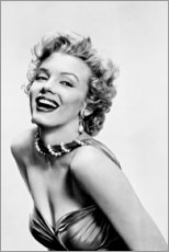 Tableau sur toile  Marilyn Monroe souriante - Celebrity Collection