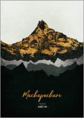Toile  Machapuchare - Tobias Roetsch