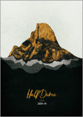 Sticker mural  Half Dome - Tobias Roetsch