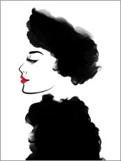 Poster  Noble dame - Martina illustration