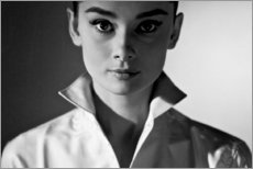 Tableau en plexi-alu  Audrey Hepburn - Celebrity Collection