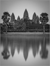 Poster  Temple d'Angkor Wat au Cambodge - Markus Ulrich