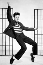 Poster  Elvis Presley dansant II - Celebrity Collection