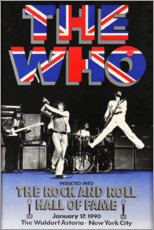 Poster  The Who, Hall of Fame - Entertainment Collection