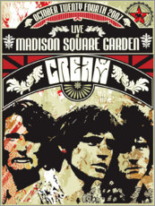 Poster  Cream, Madison Square Garden - Entertainment Collection