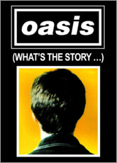 Tableau en plexi-alu  Oasis, What's The Story - Entertainment Collection