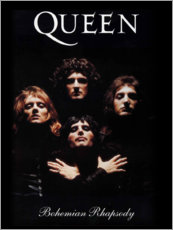 Tableau sur toile  Queen, Bohemian Rhapsody - Entertainment Collection