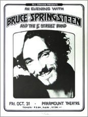 Tableau en verre acrylique  Bruce Springsteen et E Street Band - Entertainment Collection