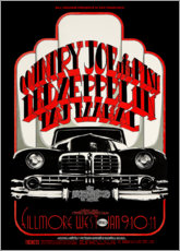 Poster  Led Zeppelin, Country Joe et The Fish - Entertainment Collection