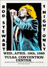 Poster  Rod Steward - 1 night only - Entertainment Collection