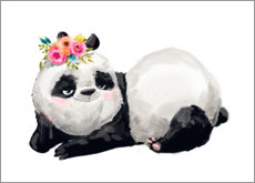 Poster  Princesse panda - Kidz Collection