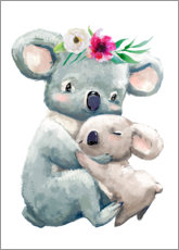 Poster  Maman koala - Kidz Collection