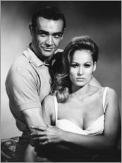 Poster  Sean Connery et Ursula Andress