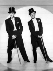 Poster Jack Buchanan et Fred Astaire