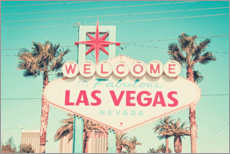 Poster  Las Vegas - Nevada - Art Couture