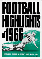 Poster  Football Highlights 1966 - Advertising Collection
