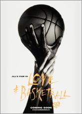 Tableau sur toile  Love & Basketball - Advertising Collection