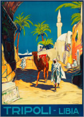 Poster  Tripoli - Lybia - Travel Collection