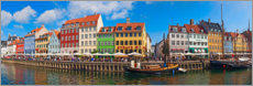 Poster  Panorama du canal Nyhavn I