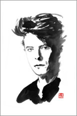Poster  David Bowie - Péchane