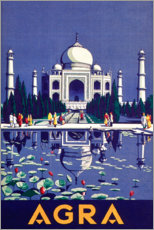 Poster  Agra - Travel Collection