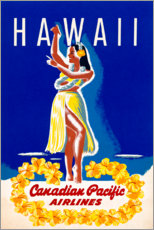 Poster  Hawaï (anglais) - Travel Collection