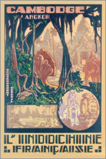Poster  Angkor au Cambodge - Travel Collection