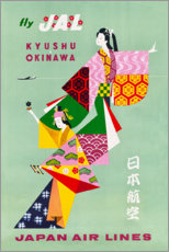 Poster  Japan Air Lines - Travel Collection