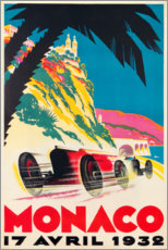 Poster  Monaco 1932 - Travel Collection