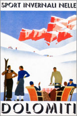 Poster  Dolomites (italien) - Travel Collection