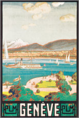 Poster  Genève - Travel Collection