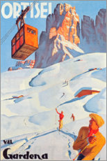 Poster  Ortisei - Val Gardena - Travel Collection