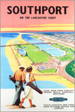 Poster  Southport Golf (anglais) - Travel Collection