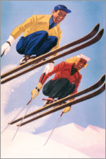 Poster  Sauteurs à ski - Travel Collection