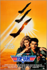 Tableau en aluminium  Top Gun (anglais) - Entertainment Collection