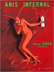Poster  Anis Infernal - Leonetto Cappiello